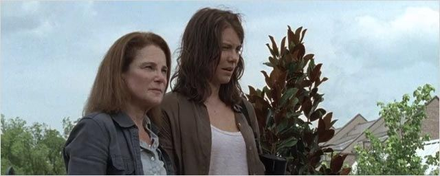 Walking Dead saison 6 : une scène coupée entre Maggie et Deanna