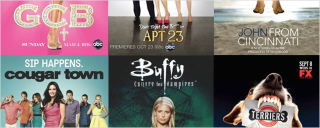 """Cougar Town"", ""Don't Trust the B---- in Apartment 23""... Ces titres de séries improbables !"