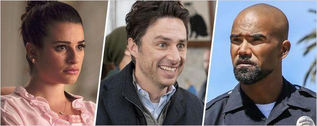 Zach Braff, Shemar Moore, Lea Michele... Ils seront bientôt de retour dans des séries !