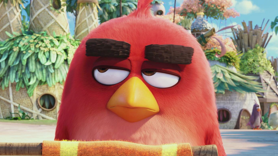 angry birds le film extrait vf le passage piton