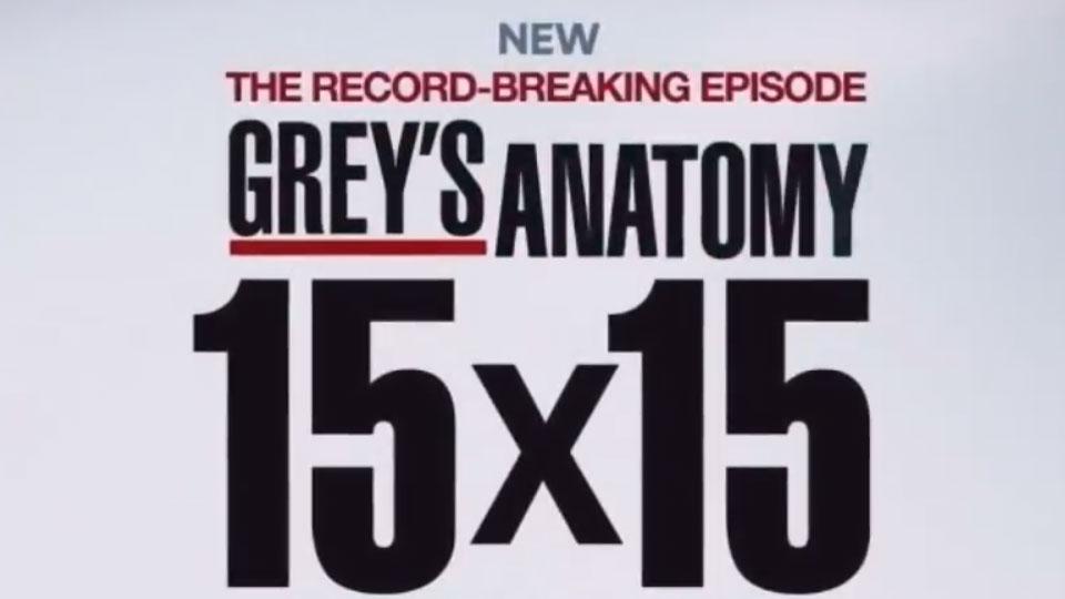 Grey's Anatomy - saison 15 - épisode 15 Teaser VO - Teaser ...