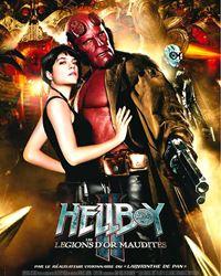 Affiche du film Hellboy II les légions d'or maudites