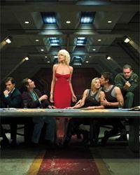 Affiche de la série Battlestar Galactica