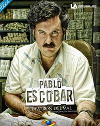 Affiche de la série Pablo Escobar, El Patrón del mal