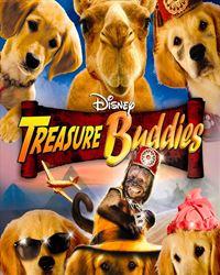 Affiche du film Les Copains chasseurs de trésor