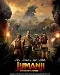 Affiche du film Jumanji : Bienvenue dans la jungle