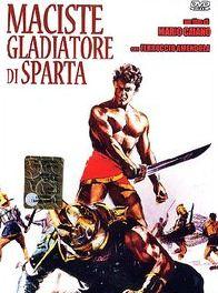 Maciste, gladiateur de Sparte cent gladiateurs