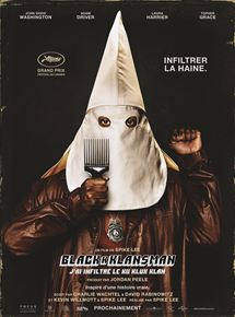 BlacKkKlansman – J'ai infiltré le Ku Klux Klan streaming