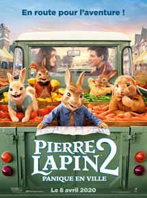 Film Pierre Lapin 2 : Panique en ville Streaming Complet - Béa, Thomas et les lapins forment désormais une famille recomposée, mais Pierre a beau...