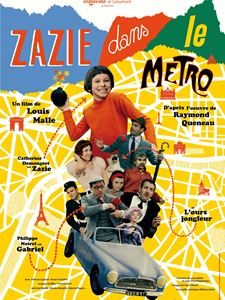Zazie dans le métro