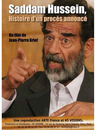 Bande-annonce Saddam Hussein, histoire d'un procès annoncé