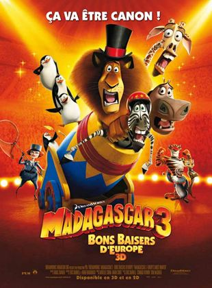 Bande-annonce Madagascar 3, Bons Baisers D'Europe