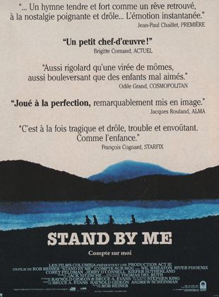 Bande-annonce Stand by Me