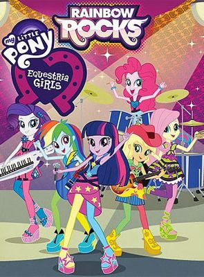 My Little Pony - Equestria girls 2 : Rainbow rocks, le film