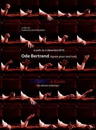 Bande-annonce Ode Bertrand, lignée pour seul trait