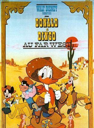 Donald et Dingo au Far-West