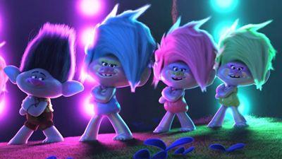 1er jour France : le film d'animation Les Trolls 2 en tête