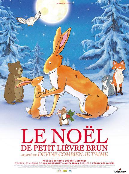 Le Noel de petit lièvre brun