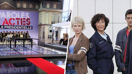 """Audiences : match nul entre """"Des Paroles et Des Actes"""" et """"Section de Recherches"""""""