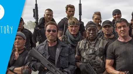 Tweet story : quand Sly partage l'aventure Expendables 3