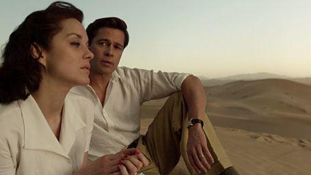 """Sorties cinéma : Marion Cotillard et Brad Pitt dominent les 1ères séances avec """"Alliés"""""""