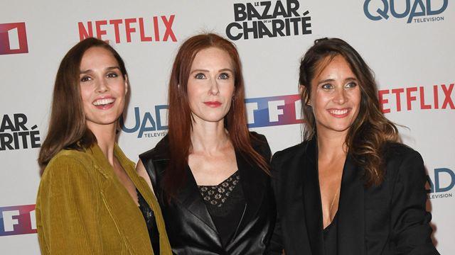 Le Bazar de la charité : Julie de Bona, Camille Lou et de nombreuses stars de TF1 à l'avant-première