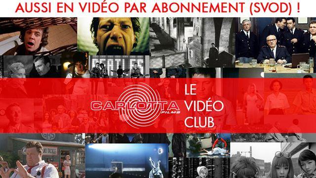 SVOD : Carlotta Films lance sa plateforme avec de purs joyaux cinéphiliques