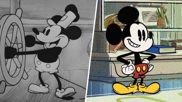 Mickey Mouse sur Disney+ : l'évolution du personnage de 1928 à 2020