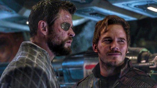 Thor 4 : Chris Hemsworth et Chris Pratt aperçus sur le tournage du film Marvel