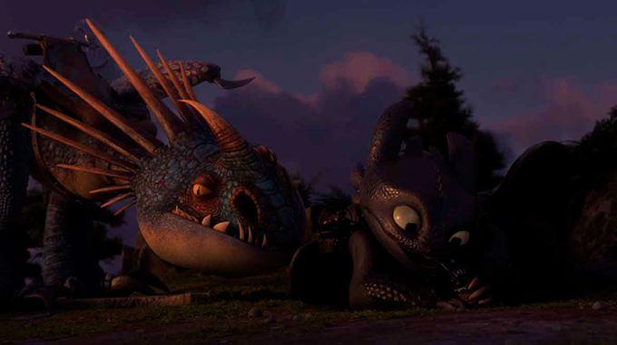 Photo 1 pour Dragons 3 : Le monde caché