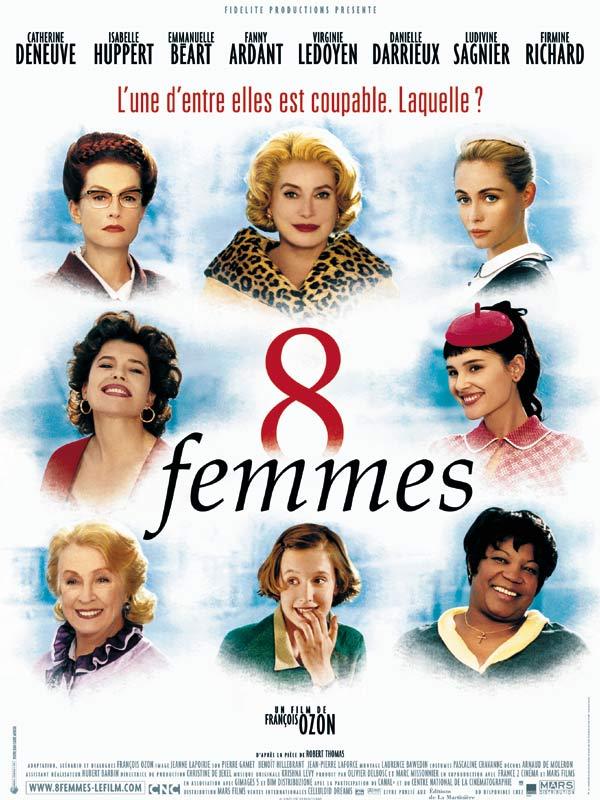 Achat 8 femmes en DVD - AlloCiné