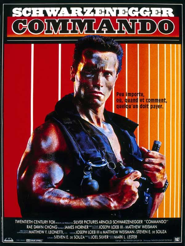 Affiche du film Commando - Affiche 1 sur 1 - AlloCiné