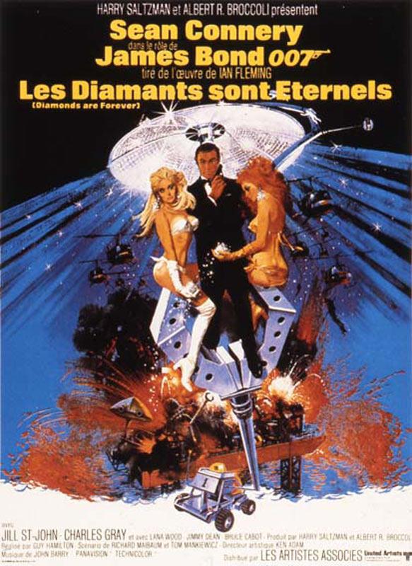 Les Diamants sont éternels - film 1971 - AlloCiné