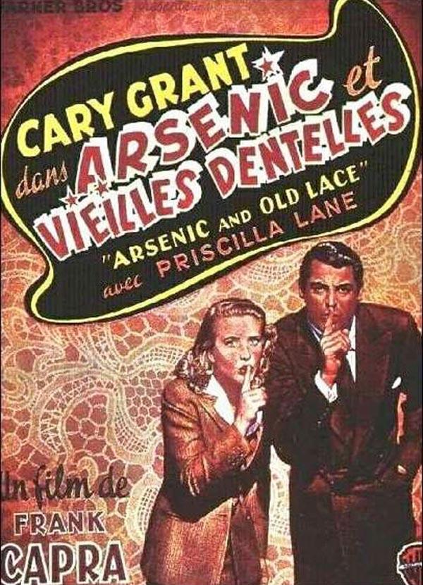Achat Arsenic Et Vieilles Dentelles En Dvd Allocine
