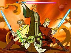 Affiche de la série Star Wars: Clone Wars (2003)
