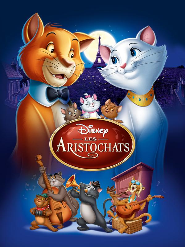 Affiche du film Les Aristochats - Affiche 1 sur 1 - AlloCiné