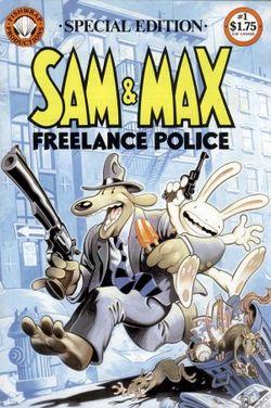 Affiche de la série The Adventures of Sam & Max : Freelance Police