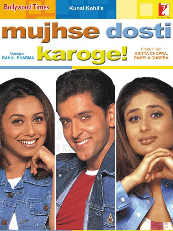 Mujhse Dosti Karoge Film 2002 Allocine