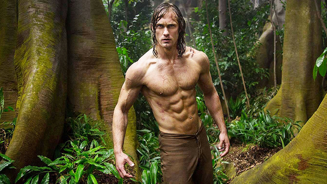 Tarzan avec Margot Robbie sur TF1 : l'incroyable transformation physique d'Alexander Skarsgård - AlloCiné