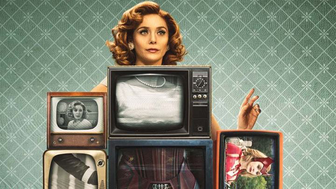 WandaVision : Elizabeth Olsen parodie la série chez Jimmy Fallon - AlloCiné