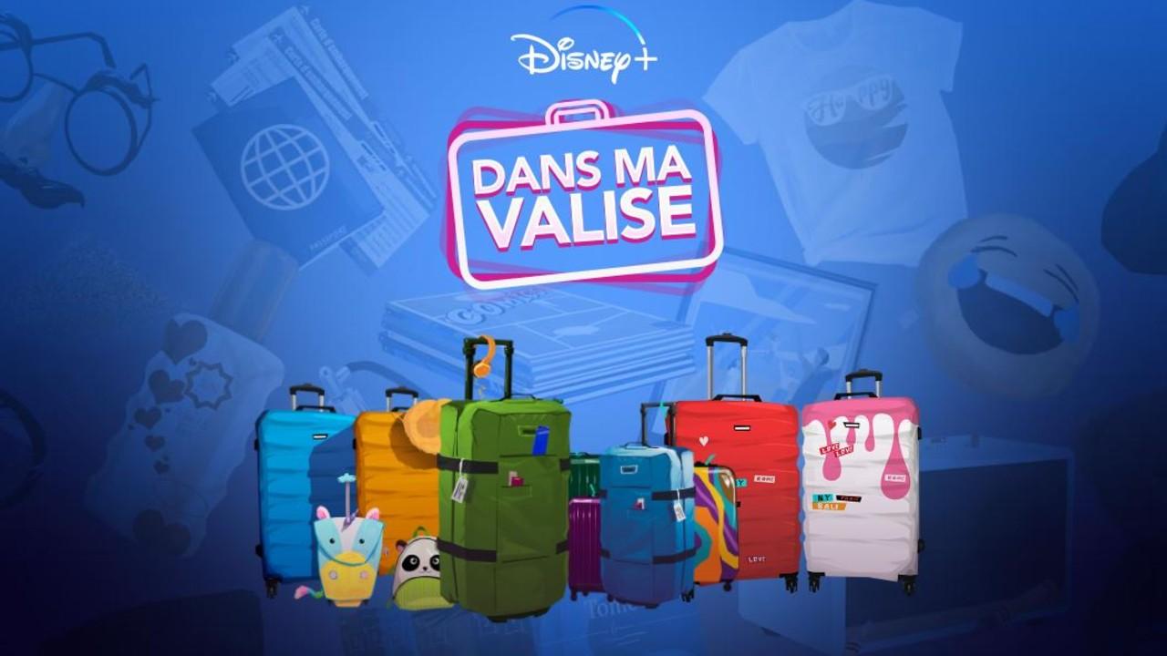 Dans ma valise Disney+ : dites-nous ce que vous emportez en vacances, on vous dit quel programme Disney+ regarder ! – News Séries à la TV