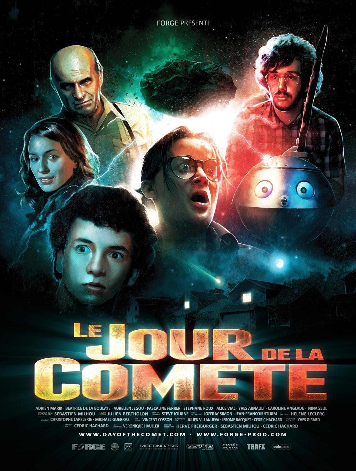 Le Jour de la comète ddl