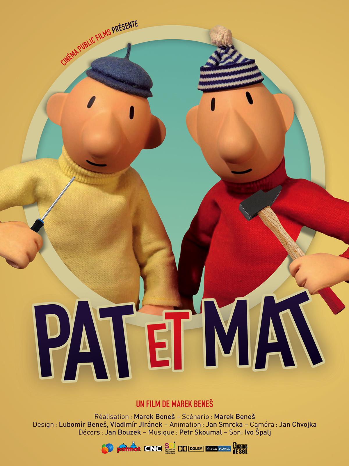 """Résultat de recherche d'images pour """"pat et mat"""""""