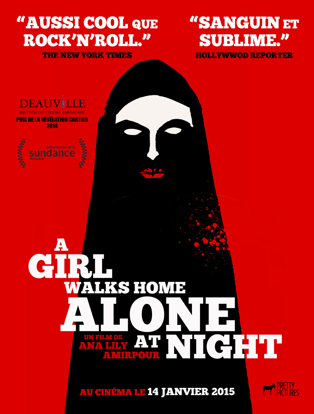 Télécharger A Girl Walks Home Alone At Night HDLight 720p HD