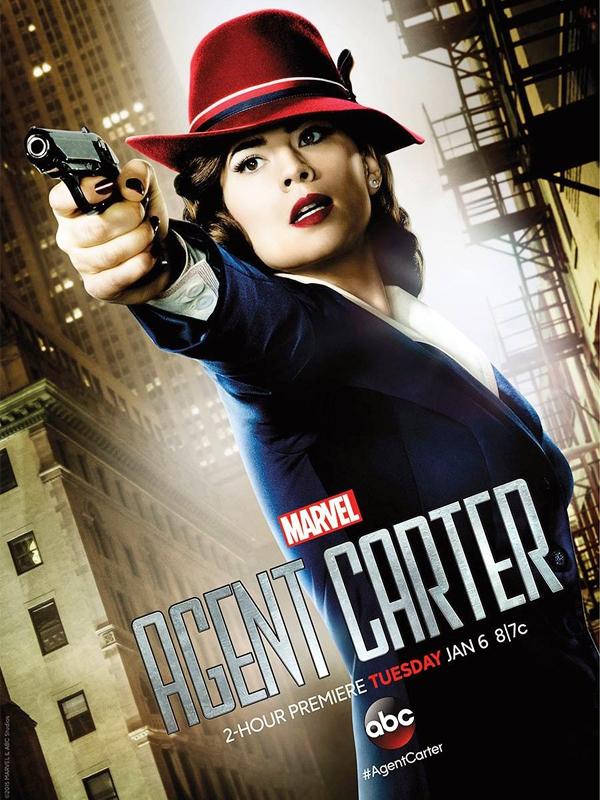 Affiche de la série Marvel's Agent Carter