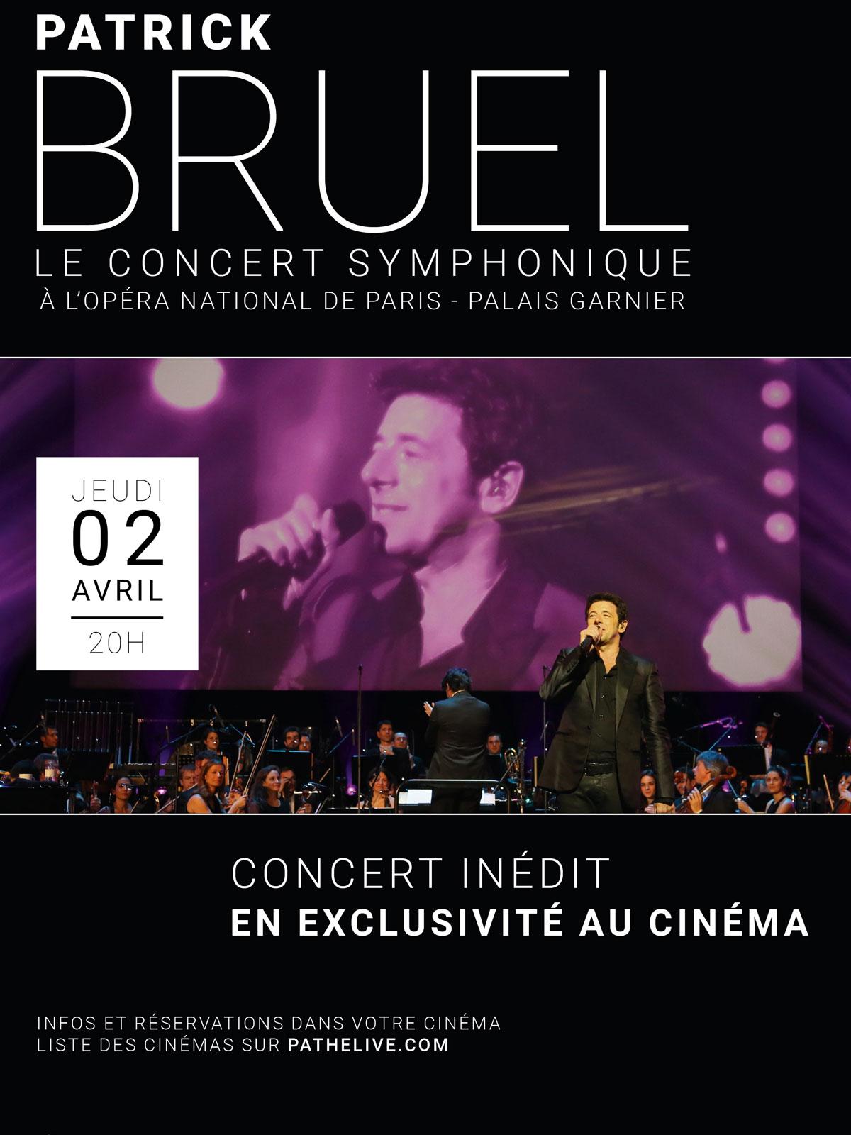 Télécharger Patrick Bruel - Le Concert Symphonique (Pathé live) DVDRIP Gratuit Uploaded