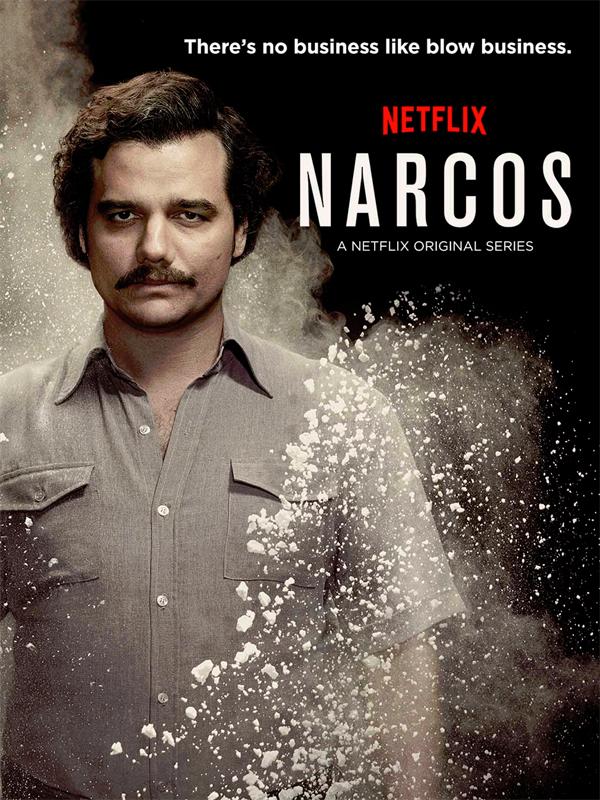 Affiche de la série Narcos