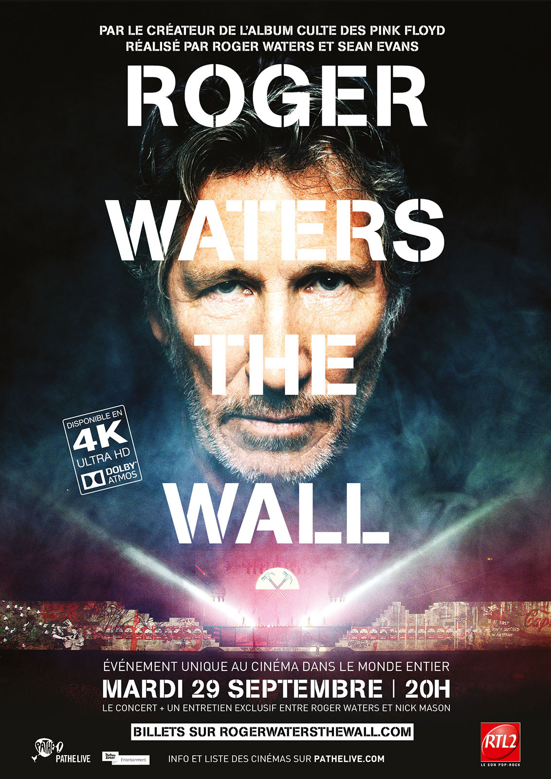 Roger Waters The Wall en Streaming