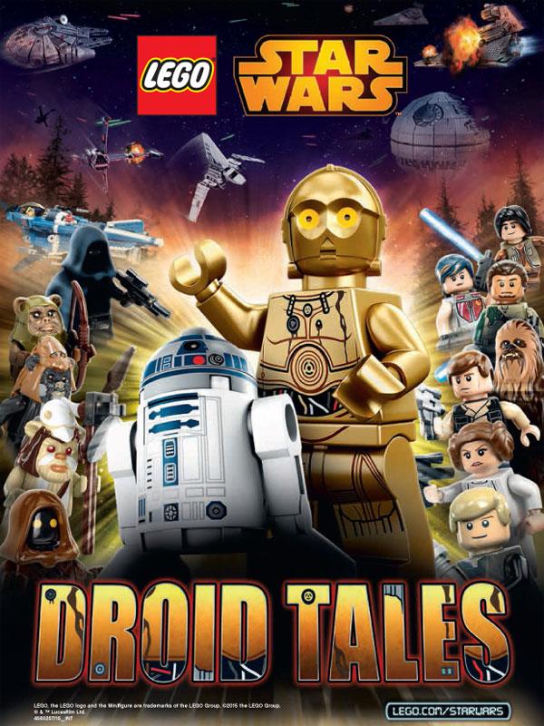 Affiche de la série Lego Star Wars: Droid Tales