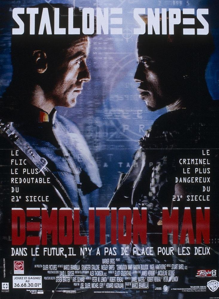 Achat Demolition Man en Blu Ray - AlloCiné
